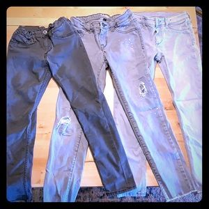 Other - Lot of 3 skinny jeans 7/8